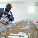 Jeremie ran a tight ship in  the cupping room